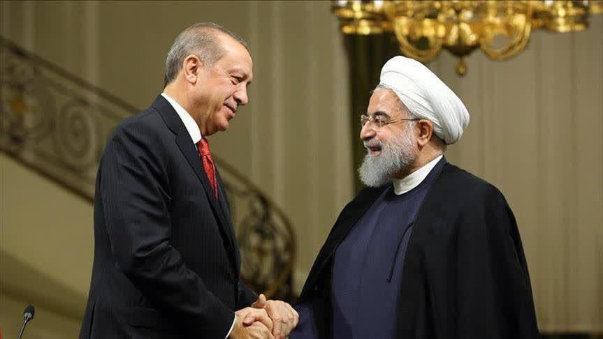 روسای جمهوری ایران و ترکیه با یکدیگر دیدار کردند