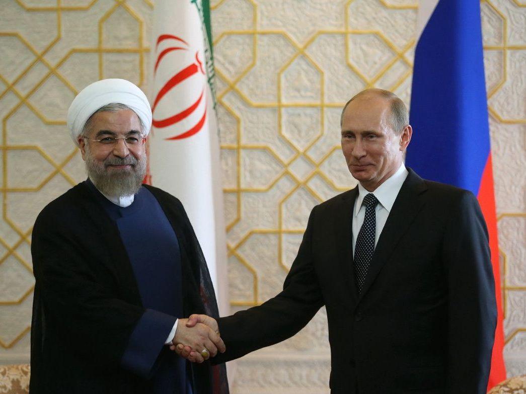 روسای جمهور ایران و روسیه دیدار کردند
