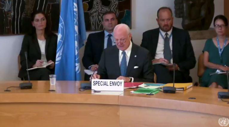 تشکیل جلسه شورای امنیت درباره اوضاع سوریه