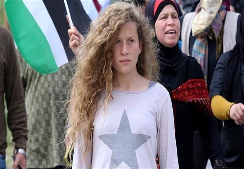 رژیم صهیونیستی خانواده عهد التمیمی را ممنوع الخروج کرد