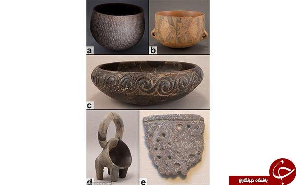 کشف بقایای پنیر ۷۲۰۰ ساله + عکس