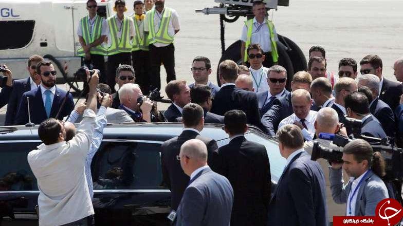 خودروی رئیس جمهور روسیه در سفر به ایران +تصاویر