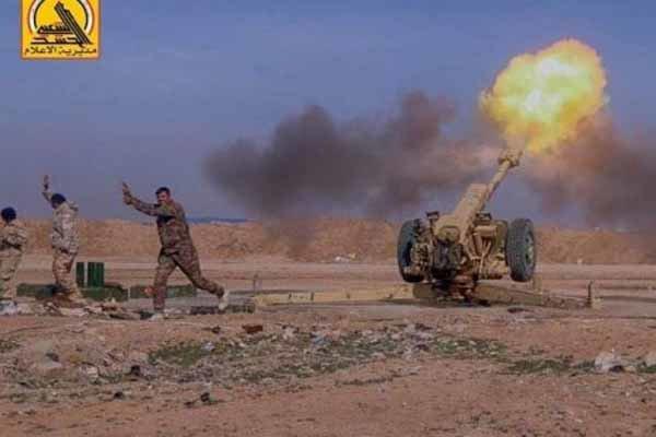 حشد الشعبی حمله داعش برای نفوذ به «دیالی» عراق را ناکام گذاشت