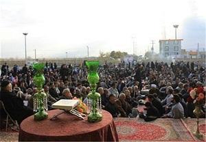سوگواره بصیرت عاشورایی در بقاع متبرکه استان مرکزی