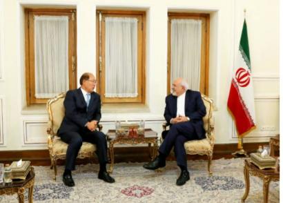 دیدار دبیر کل سازمان بین المللی دریانوردی با ظریف