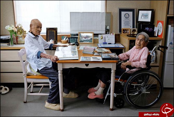 زوجی که با طولانیترین زندگی مشترک کنار یکدیگر رکورد زدند+تصاویر