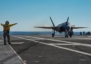 جنگندههای اف-35 آمریکا برای نخستینبار وارد خلیج فارس شدند