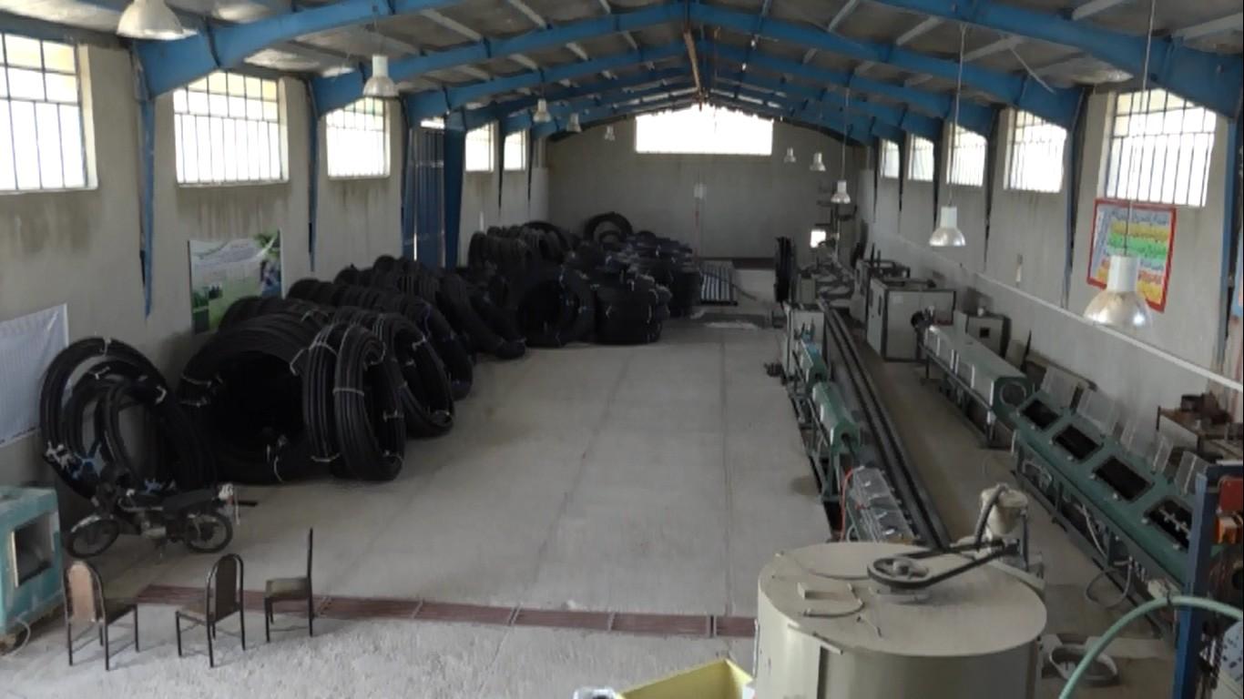 محصول ایرانی در طرح آبیاری نوین کشاورزی/ از تولید تا مصرف بومی لوله های پلی اتیلن در ایلام
