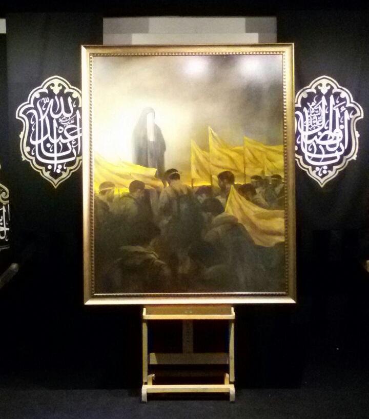 جدیدترین اثر حسن روح الامین با عنوان «لشکر فاطمیون» رونمایی شد