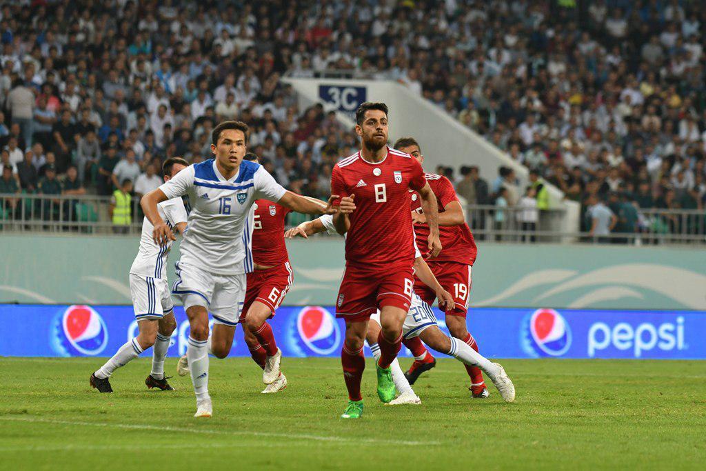 تیم ملی ایران یک - ازبکستان صفر /گزارش لحظه به لحظه
