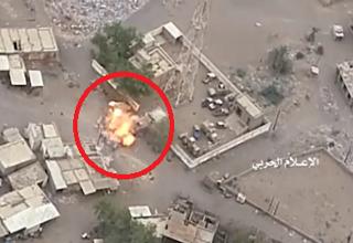 نخستین ویدئو از عملیات افتخارآمیز یگان پهپادی یمن علیه ائتلاف سعودی- اماراتی!