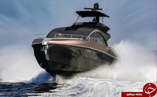 لکسوس نخستین قایق پرسرعت خود را معرفی کرد +تصاویر