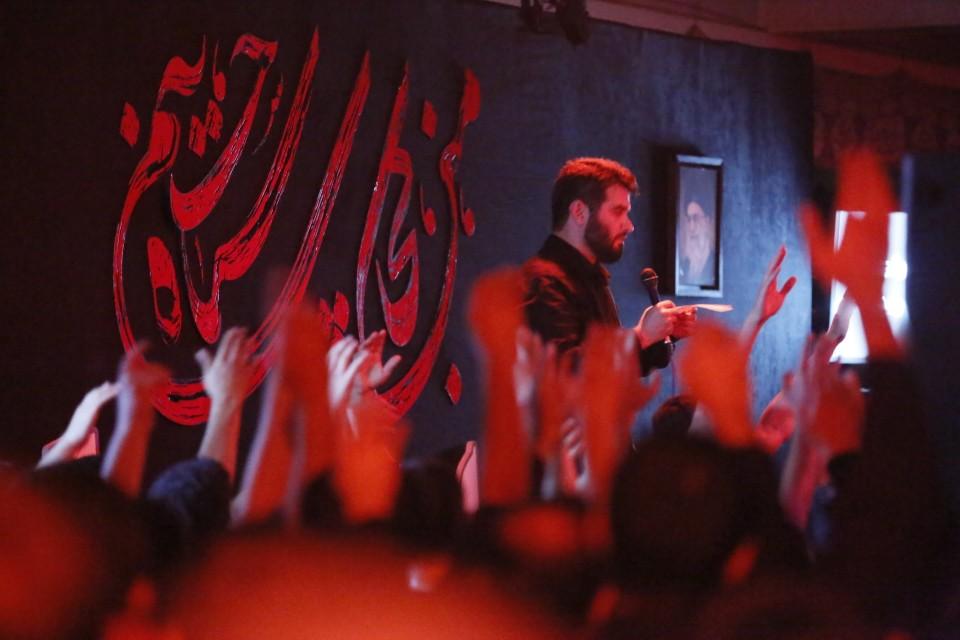 گلچین تصاویر هیات عزاداری شب دوم محرم ۹۷