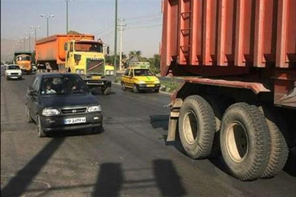 سرعت مجاز کامیونها 20 کیلومتر کمتر میشود/ تمهیدات خاص شهرداری برای جریمه رانندگان متخلف