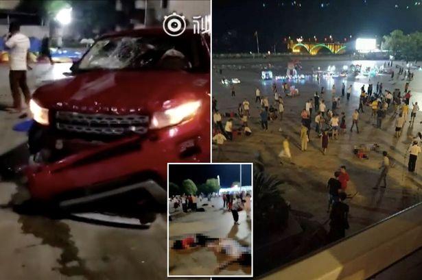 یک دستگاه خودرو عابران پیاده را در شهر هنگیانگ چین زیر گرفت/۴۶ کشته و زخمی