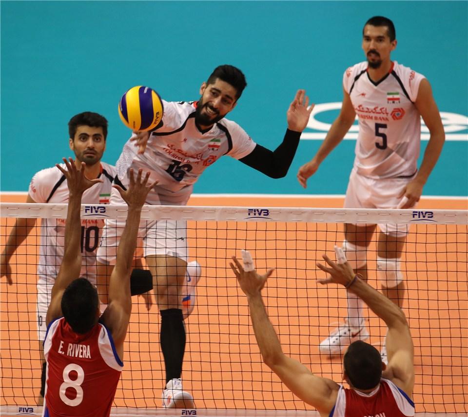 ایران 3- پورتوریکو صفر /  والیبال ایران گام نخست را محکم برداشت