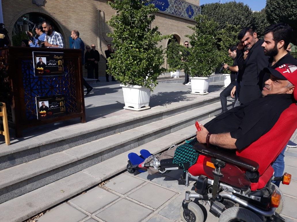 پیکر حسین عرفانی صدای ماندگار دوبله به سمت خانه ابدی بدرقه شد