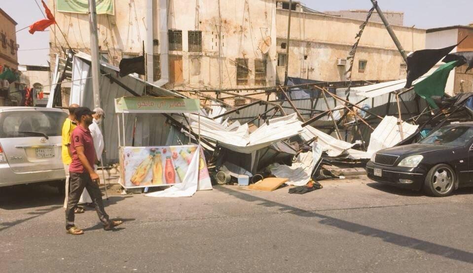 تخریب مجدد تکایای حسینی در منطقه شیعهنشین عربستان+ تصاویر