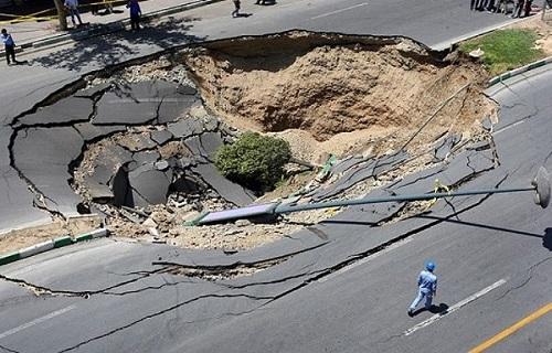 بزرگترین زلزله هفته در / ثبت ۹۷ زمین لرزه در کشور