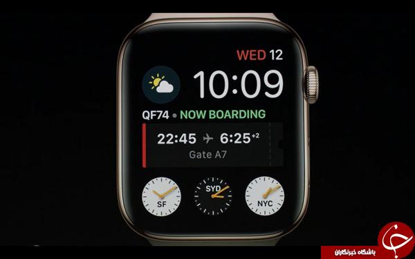 ساعتهای هوشمند سری جدید اپل با نمایشگر بزرگتر معرفی شدند
