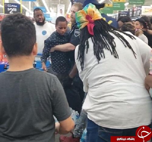 طوفان فلورانس فروشگاهها را به هرجومرج کشاند +تصاویر