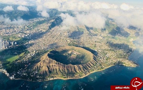 از هاوایی تا ایسلند/ آتشفشانهای سراسر جهان را بشناسید  تصاویر