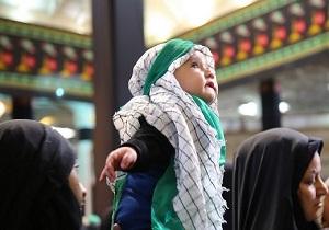 اجتماع شیرخوارگان حسینی در حرم کریمه اهل بیت(س)