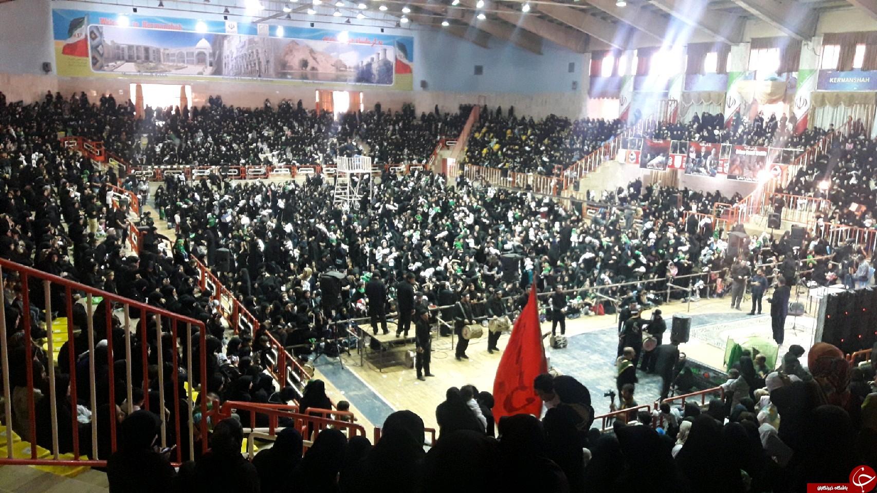 برگزاری همایش ده هزاری نفری شیرخوارگان حسینی در کرمانشاه