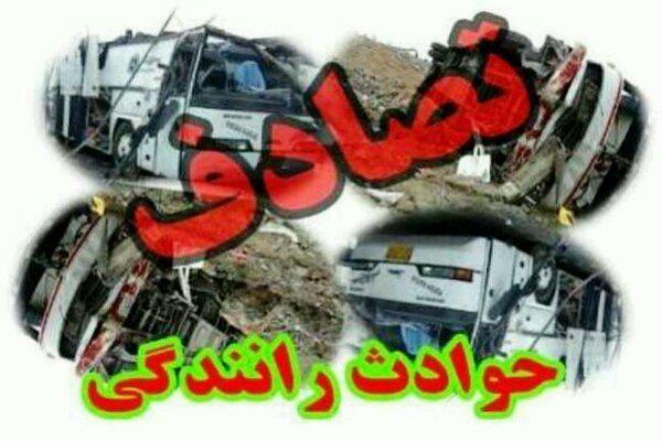 واژگونی پراید درمحوراردستان-مهاباد/5 نفر کشته و زخمی شدند