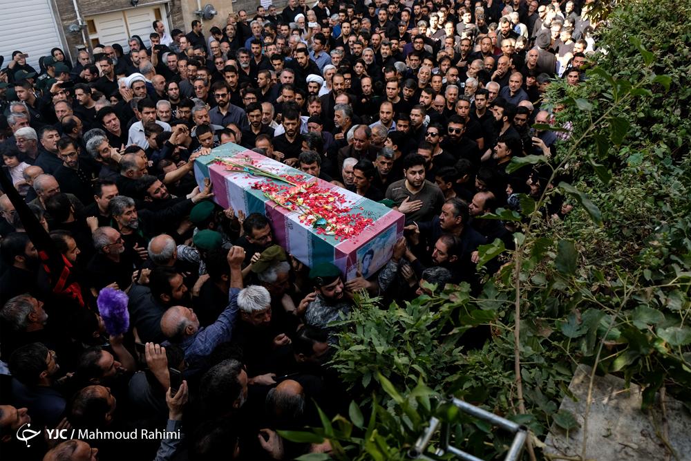 تشييع و تدفين شهيد ابوالفضل كلهر بعد از 37 سال