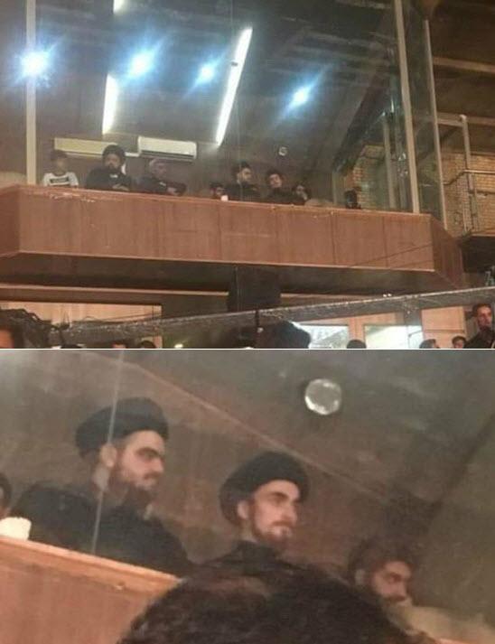 تصویری از فرزند سید حسن خمینی در هیئت که حاشیه ساز شد