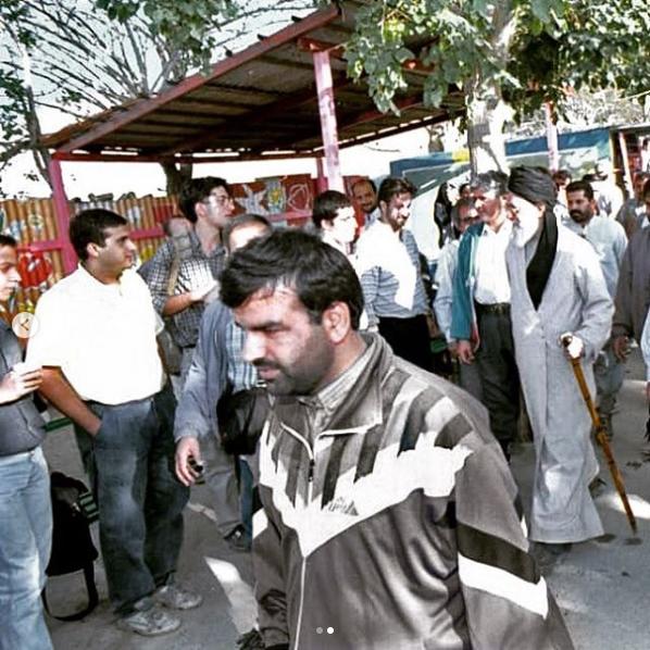 کوهپیمایی رهبر انقلاب 2روز پس از حادثه 11 سپتامبر