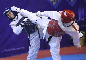 برگزاری مسابقات تکواندو قهرمانی آزاد بانوان استان یزد