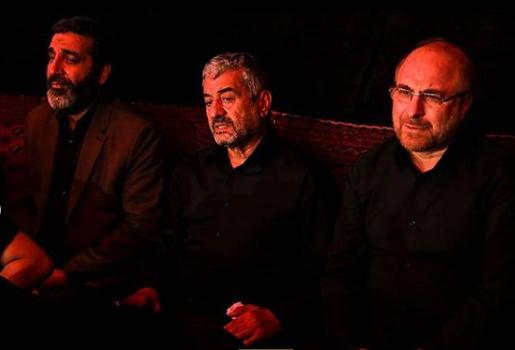 گزارش تصویری مراسم عزاداری شب پنجم  محرم ۹۷