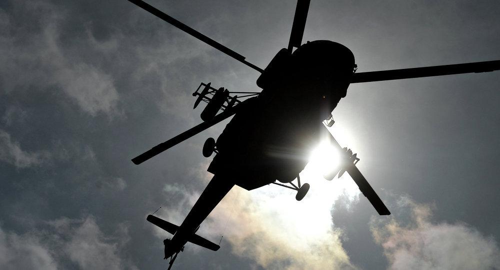 سقوط هلیکوپتر ارتش افغانستان توسط طالبان در فراه