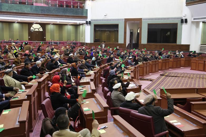 غیبت ۸۰ درصدی نمایندگان مجلس افغانستان