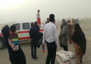 ۳۶۹ سبدغذایی میان مردم توفان زده سیستان توزیع شد