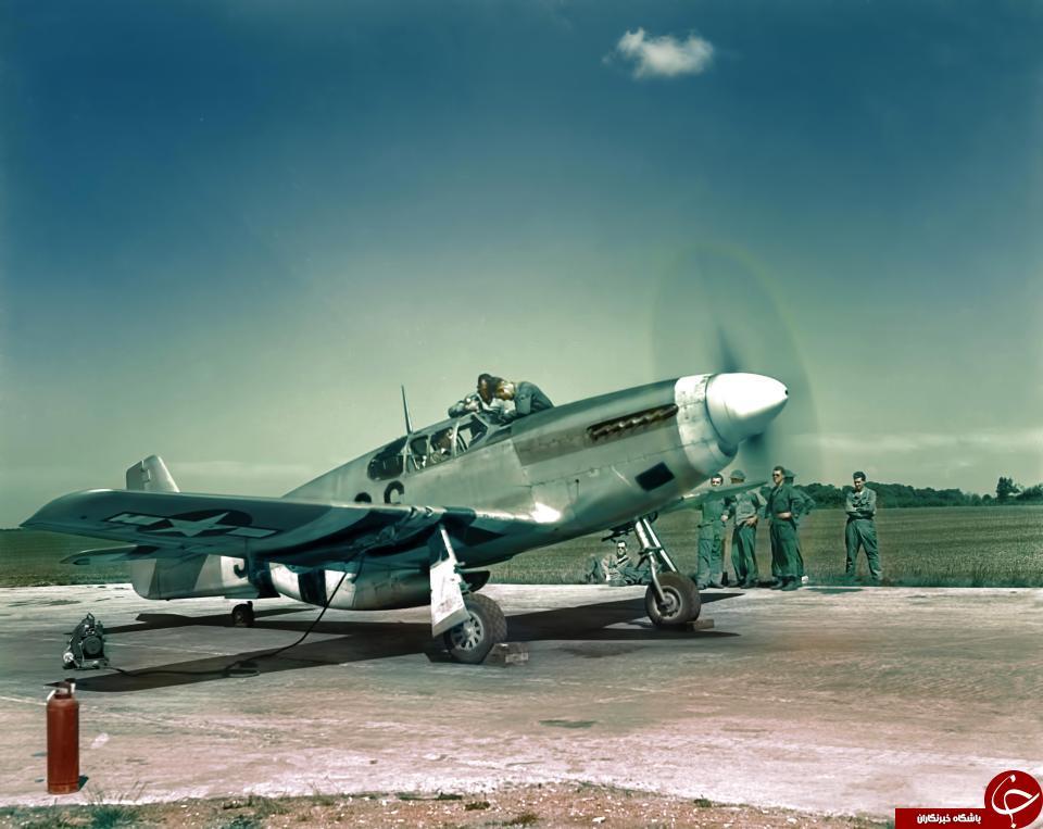 تصاویر رنگی دیده نشده از هواپیماهای نظامی جنگ جهانی دوم //