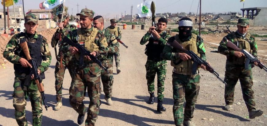حشد شعبی عملیات تروریستی داعش در جنوب سامراء را خنثی کرد