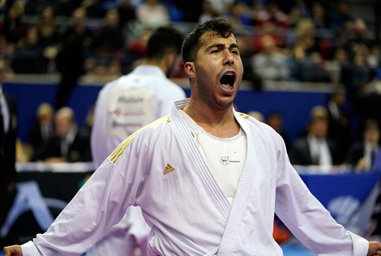 مبارزه گنج زاده در فینال و پورشیب در دیدار رده بندی لیگ جهانی کاراته