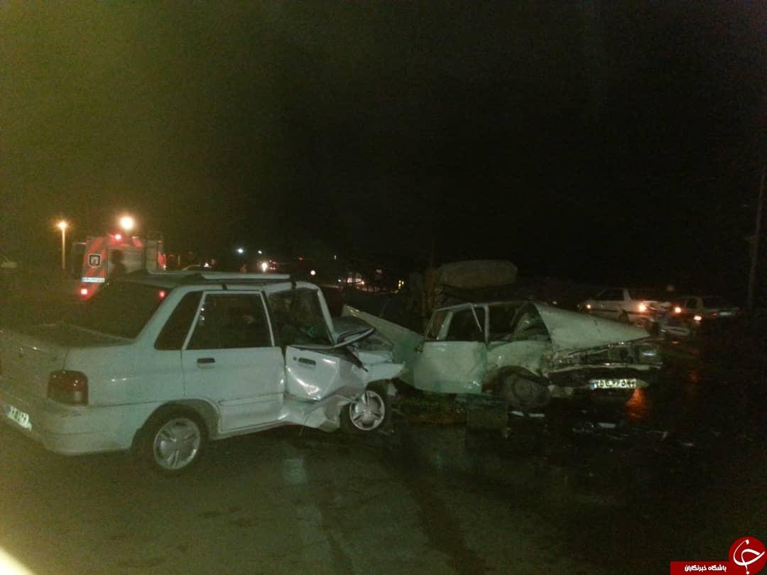 ۵ کشته و زخمی در حادثه رانندگی جهرم