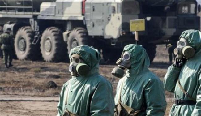 مخازن گاز کلر برای نمایش ساختگی حمله شیمیایی به روستای بسنقول در ادلب منتقل شدند