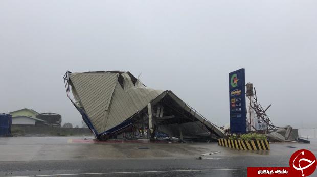 افزایش شمار قربانیان توفان فیلیپین به ۲۵ نفر+ تصاویر