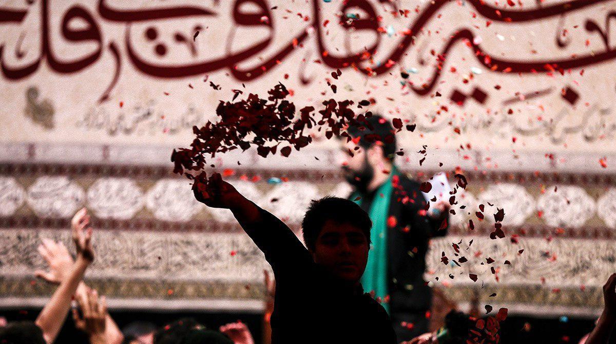گزارش تصویری مراسم عزاداری شب ششم محرم ۹۷