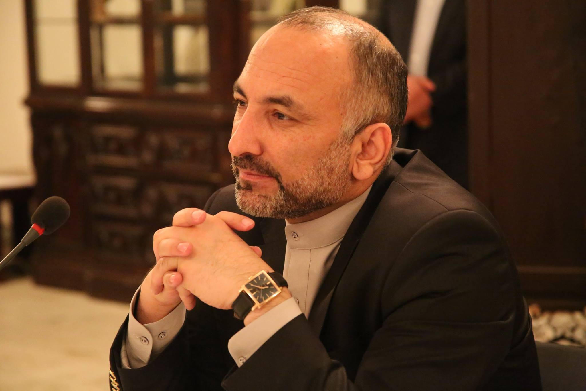 «حنیف اتمر» تیم انتخاباتی خود را تشکیل داد
