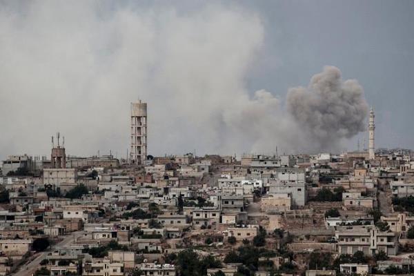 تروریستها محموله گاز شیمیایی کلر به ادلب منتقل کردند
