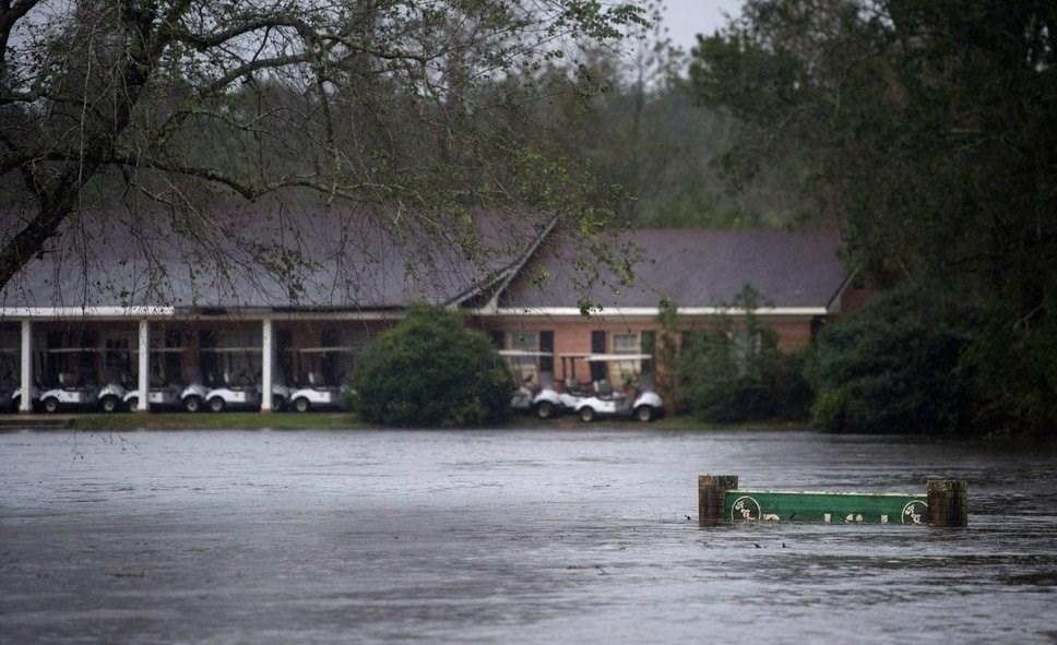 توفان فلورنس در آمریکا به روایت تصاویر
