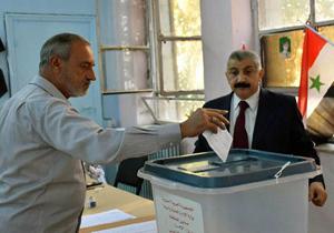 انتخابات شوراهای محلی شهر و استان در سوریه برگزار شد