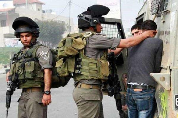 ۱۶ فلسطینی در یورش نظامیان صهیونیست به کرانه باختری بازداشت شدند