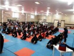 برگزاری مسابقات کونگ فو انتخابی بانوان استان در همدان